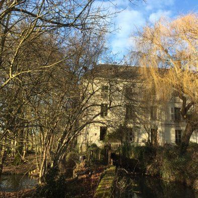 Le Moulin vu depuis la Bonde
