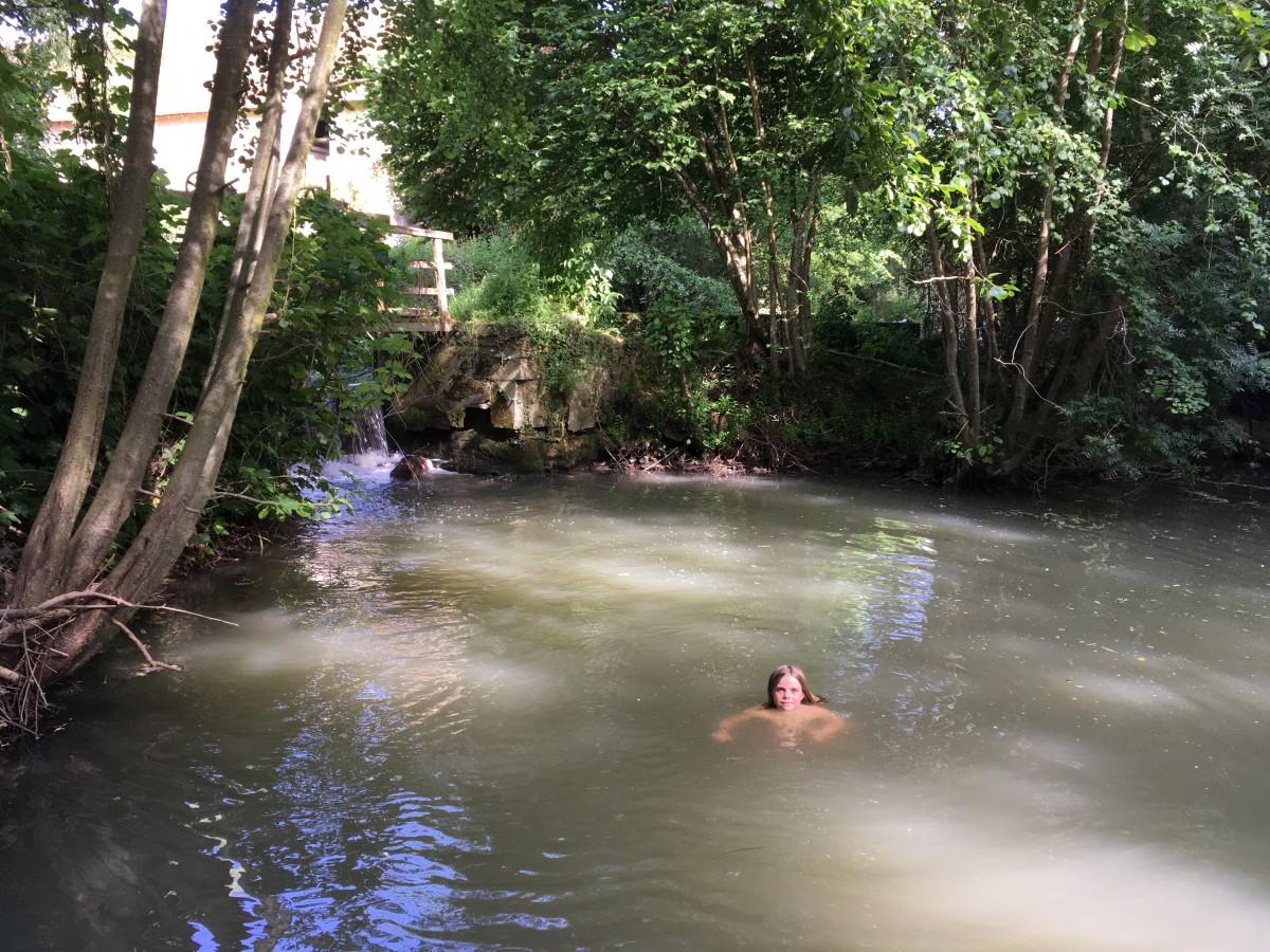 Baignade au Moulin