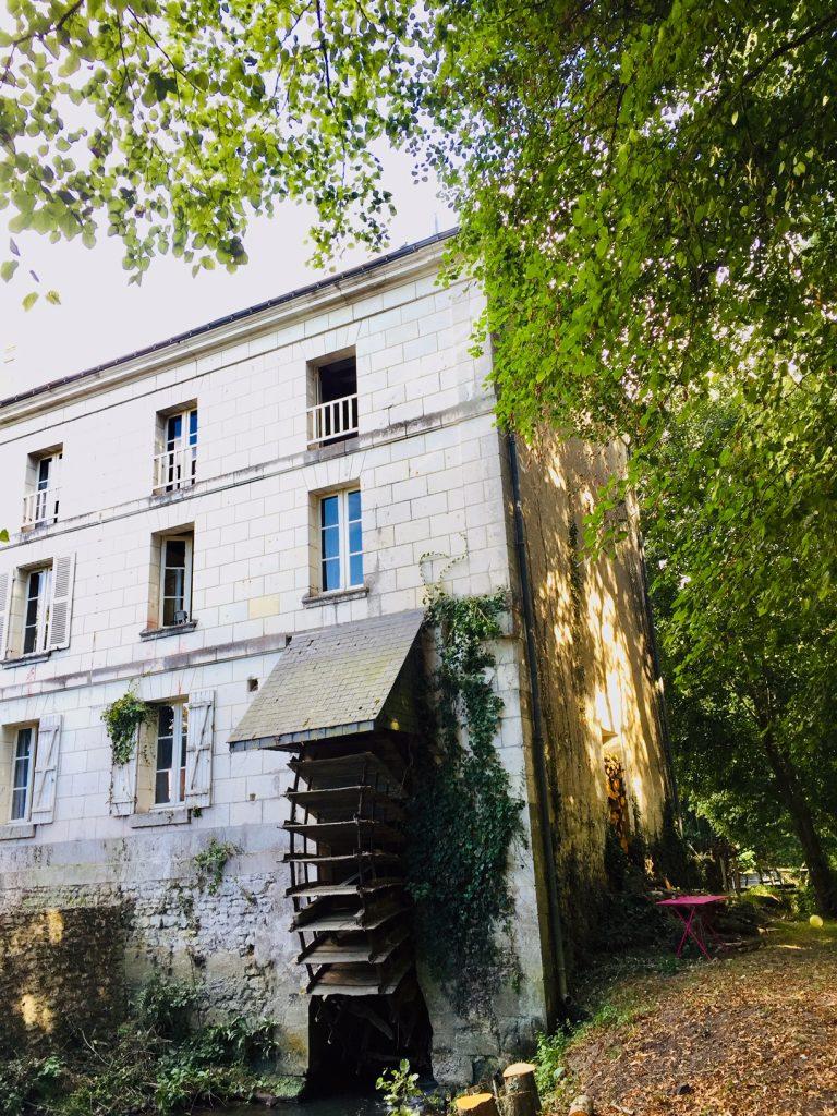 La roue du Moulin de Charreau