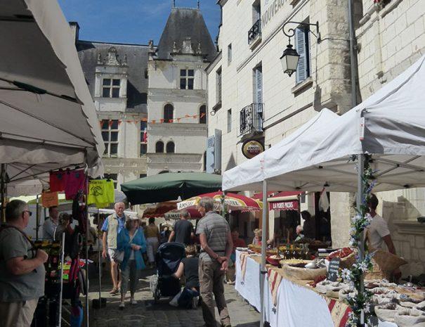 Flâner dans un marché