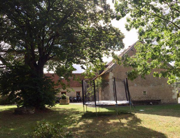 Le trampoline de l'Ancienne Poste