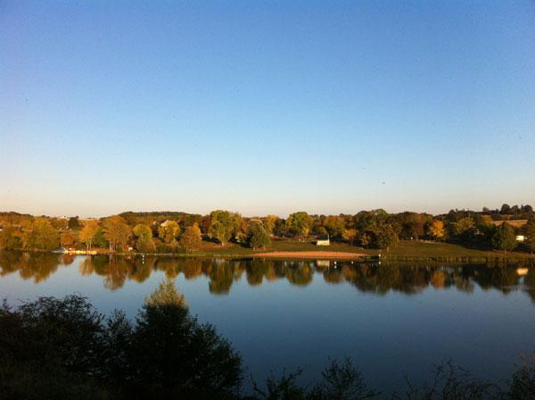 Le Lac de Chemillé